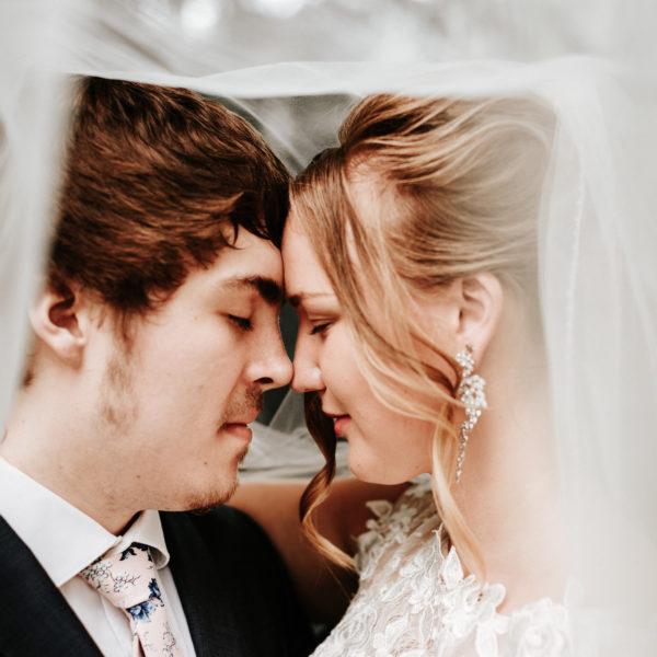 Bella & Alex Wedding Portraits
